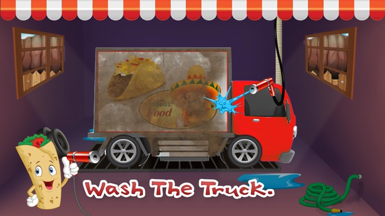 Taco Truck Wash - Dirty auto car washing, cleaning & cleanup adventure game screenshot-4