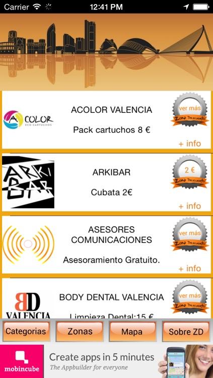 Zona Descuento Valencia - descubre los mejores planes screenshot-3
