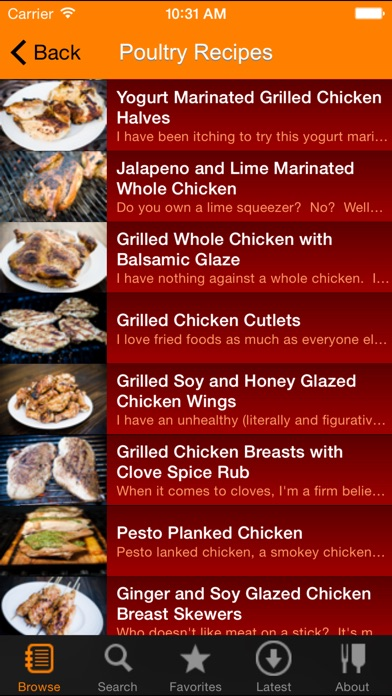 Screenshot for Grill-It! Grilling and BBQ Recipes in United Arab Emirates App Store