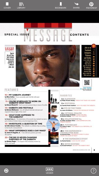 Message Magazine HD screenshot-3