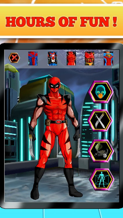 Make your own superhero online free