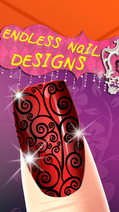 Cinderella's Woods Nail Salon - Beauty Make-Over Design & Fashion Manicure Dress-Up (Free Maker Games for Girls)のおすすめ画像2
