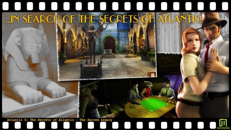 Atlantis 5: The Secrets of Atlantis - The Sacred Legacy - (Universal) screenshot-4