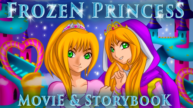Frozen Charm Princess Animated Story Book for Kids and Children HD screenshot-0