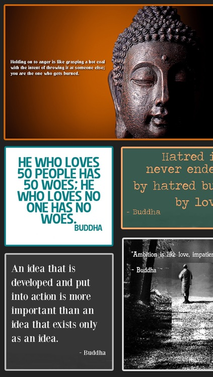 Inspirational & Motivational Buddha Quotes Wallpapers