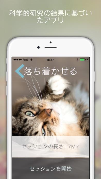 Cat Relax (キャット・リラックス) :リラックスの気分や元気を導くサウンドスケープ . あなたの猫は彼らのために作曲の音楽に反応見て楽しんできてねのおすすめ画像2