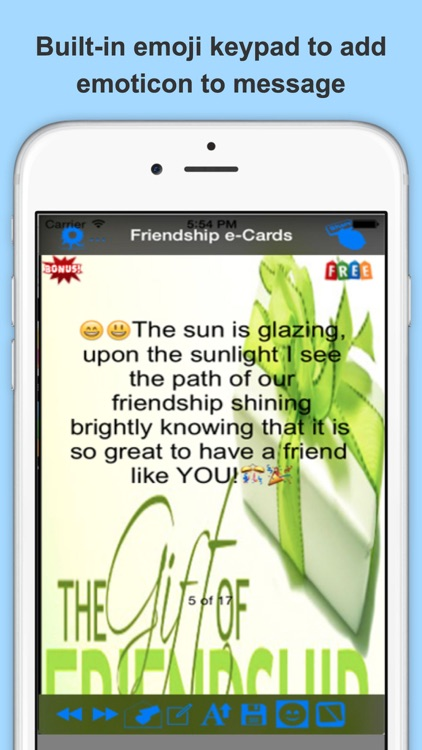 The Best Friendship e-Cards.Customise and Send Friendship Greeting Cards screenshot-3
