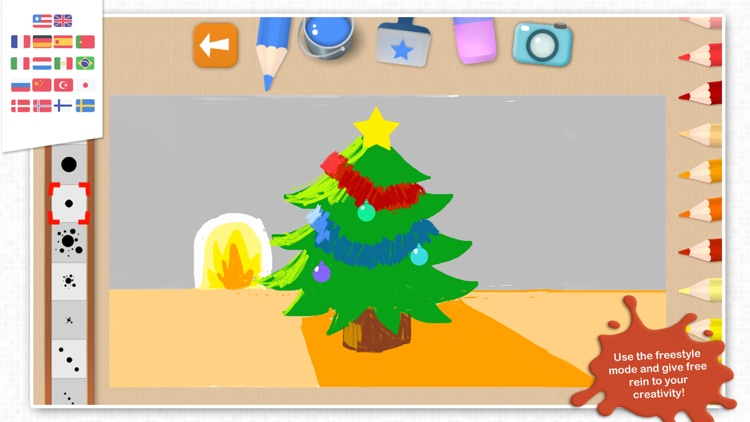 Chocolapps Art Studio - Drawings and coloring pictures for kids screenshot-4