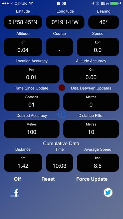 GPS Device Data screenshot-4