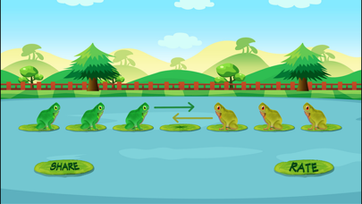 Frog Jump Puzzle screenshot two