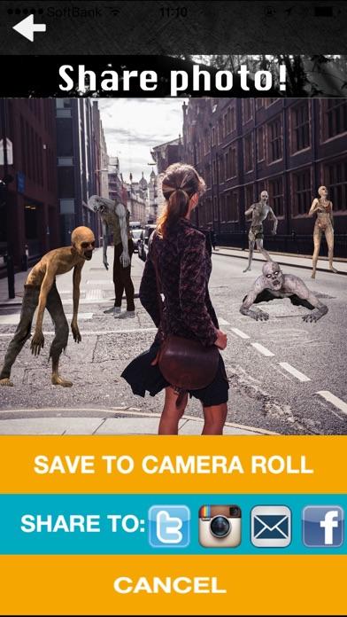 Zombie Camera - Free screenshot four