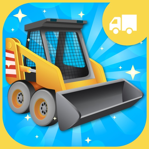Tap Trucks and Things That Go Shape Puzzles Lite