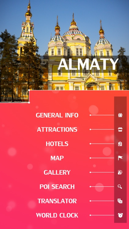 Almaty Offline Travel Guide