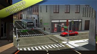 バスの運転手の3Dシミュレータ - エクストリーム駐車場の挑戦、ティーンや子供のための病みつき駐車場のおすすめ画像2