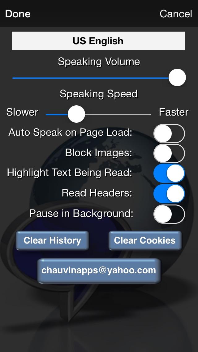 Web Reader - Text to Speech iPhone