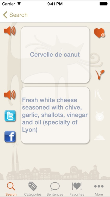 Bon appétit - French food and drink glossary screenshot-2