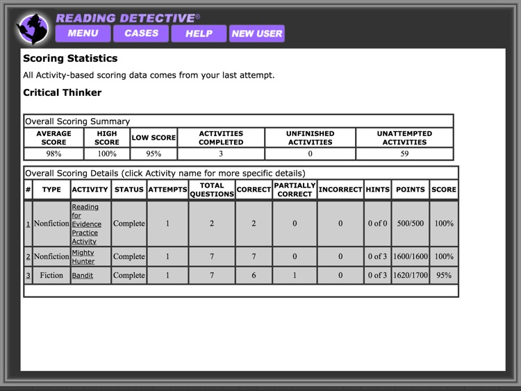 Reading Detective® Beginning screenshot-4