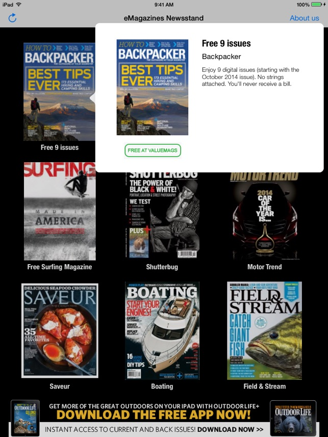 eMagazines Free Digital Editions - The Source For Samples on Your