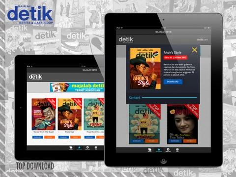 Majalah detik iPad