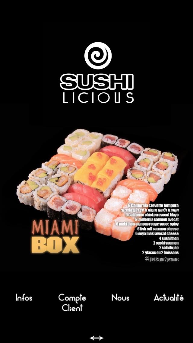 Sushi Licious Screenshot