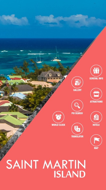 Saint Martin Island Offline Travel Guide screenshot-1