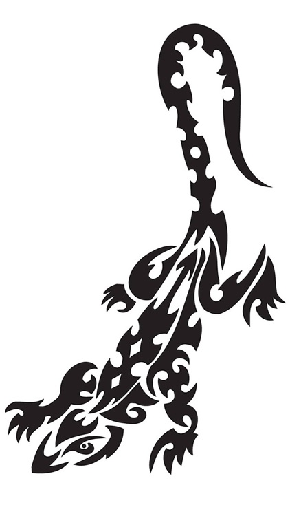 50,000 Tattoos - Gold Gallery: Skull, Dragons, Animals, Predators, Monsters