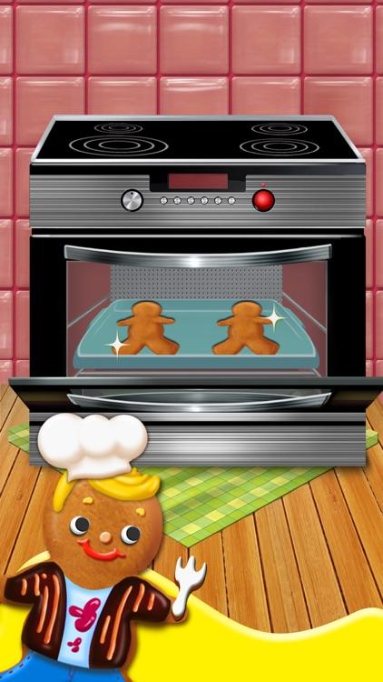 Gingerbread Kids - Christmas Food Games screenshot-3