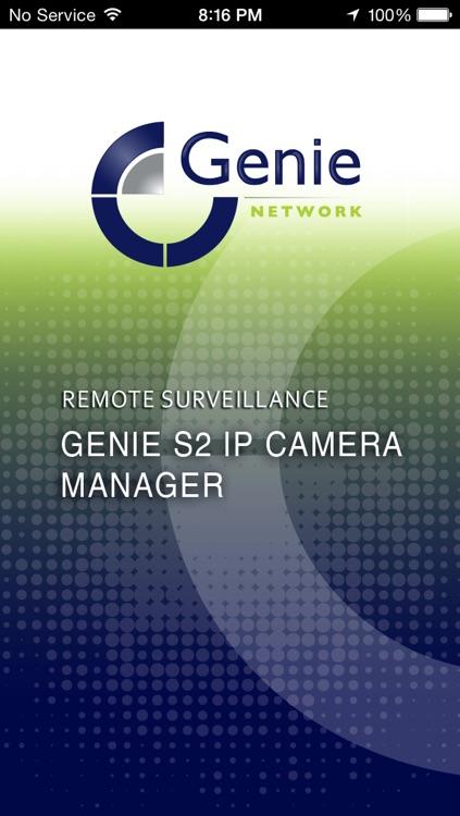 Genie S2 IP Camera Manager