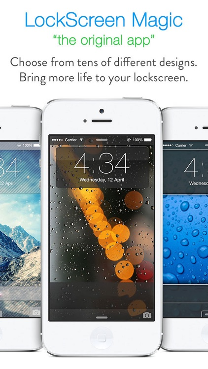 LockScreen Magic for iOS8 : Custom Themes, Backgrounds and Wallpapers for Lock Screen