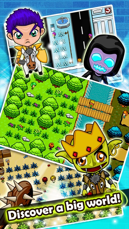 Monster Quest - Collect and Evolve Creatures screenshot-3