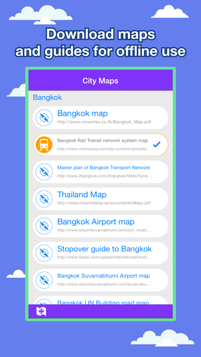 Bangkok City Maps - Discover BKK with MRT, Bus, and Travel Guides. screenshot one