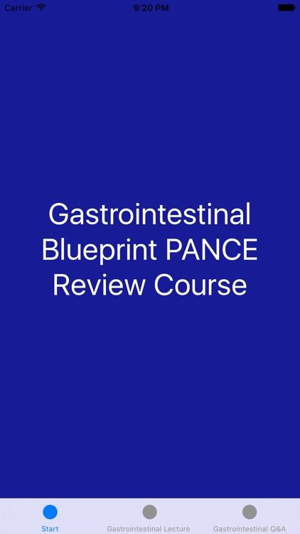Gastrointestinal Blueprint PANCE PANRE Review Course