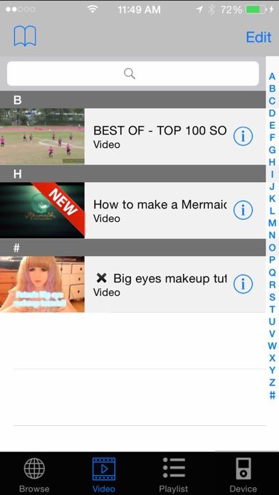 動画 MediaBox Lite - ダウンロードビデオ (Free App Download)のおすすめ画像2