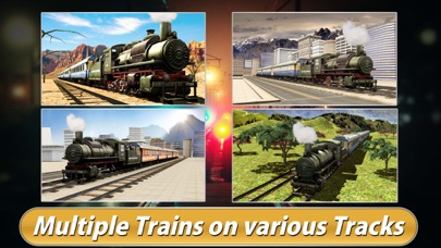 download Real Train Driving Simulator 3D - Express Rail Driver Parking Simulation Game apps 0