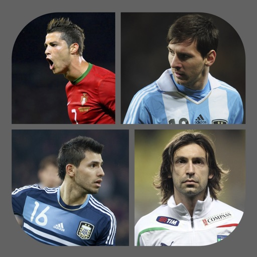 Footballers Quiz - Guess the Football Player iOS App