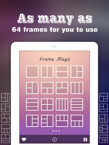 Pic Frame Magic HD - Photo Collage Maker & Grid Creator, add Stamps ...