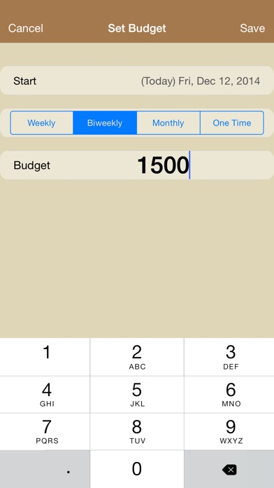cashout expense budget and cash management for personal and family