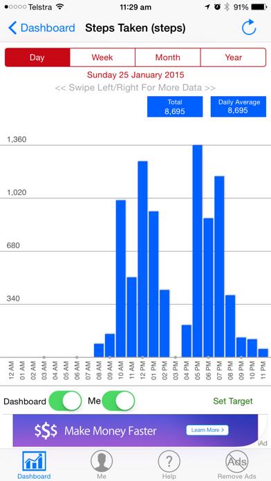 Health Data Display screenshot two