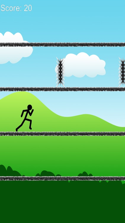 A long way - stickman jump and run free