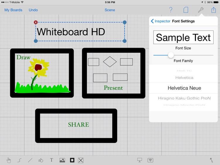 Whiteboard HD screenshot-4