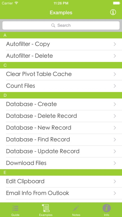 VBA Guide For Excel screenshot-0