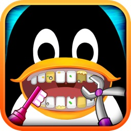 Amateur Dentist Free: Crazy Dental Club for Girls, Guys & Penguin - Surgery Games