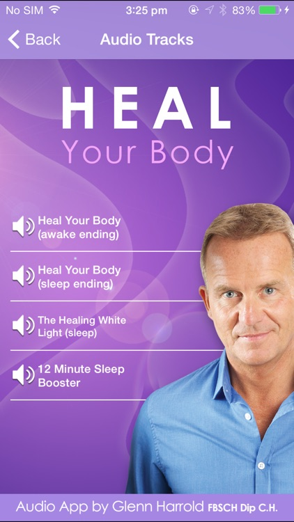 Heal Your Body by Glenn Harrold: Hypnotherapy for Health & Self-Healing screenshot-1