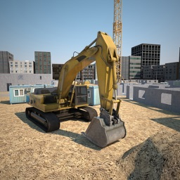 Construction city 3D simulator