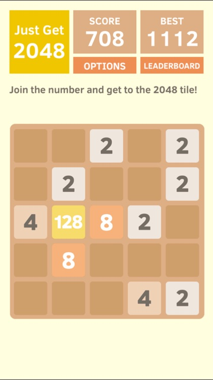 Just Get 2048 - A Simple Puzzle Game ! screenshot-3