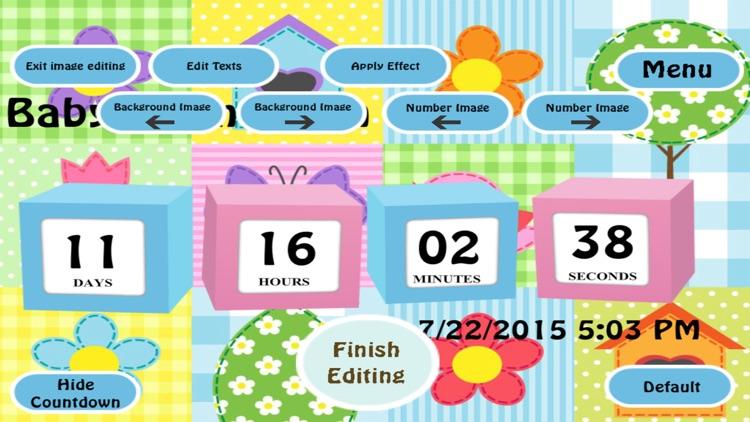 The Baby Countdown Free screenshot-4
