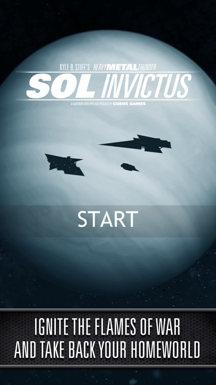 Sol Invictus – Sequel to Interactive SciFi Gamebook Heavy Metal Thunder