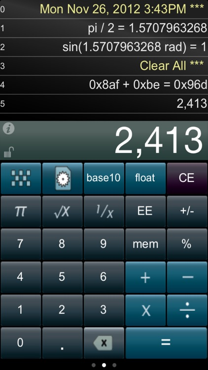 Paper Calc for Coders Lite screenshot-0