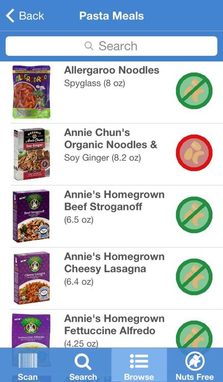 Nut-Free Food screenshot-4