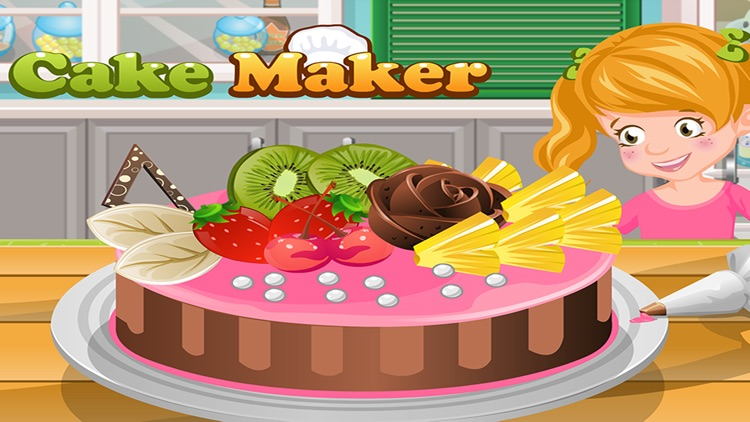 Cake Maker - Make your own recipe and make, bake and decorate your cake in this cooking academy!